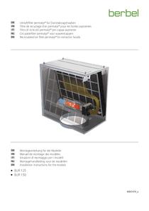 Gebrauchs- und Montageanleitung Umluftfilter permalyt