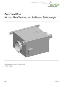 Gebrauchs- und Montageanleitung Zwischenlüfter für den Abluftbetrieb mit JetStream Technologie BZL 150 BT