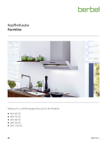 Gebrauchs- und Montageanleitung Kopffreihaube Formline BKH FO