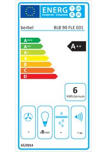 Energielabel berbel Lüfterbaustein Firstline BLB 90 FLE