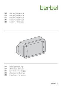 Gebrauchs- und Montageanleitung berbel ConInterface