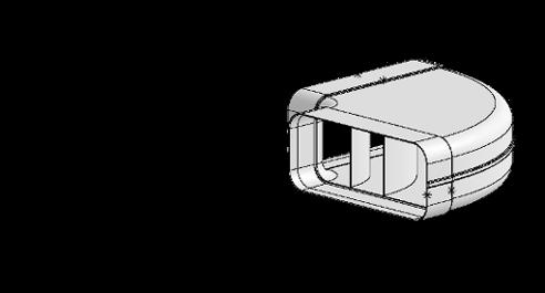 System 150 – <strong>90°-Bogen waagerecht</strong>