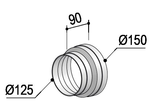 System 150 – <strong>Reduzierstück</strong>