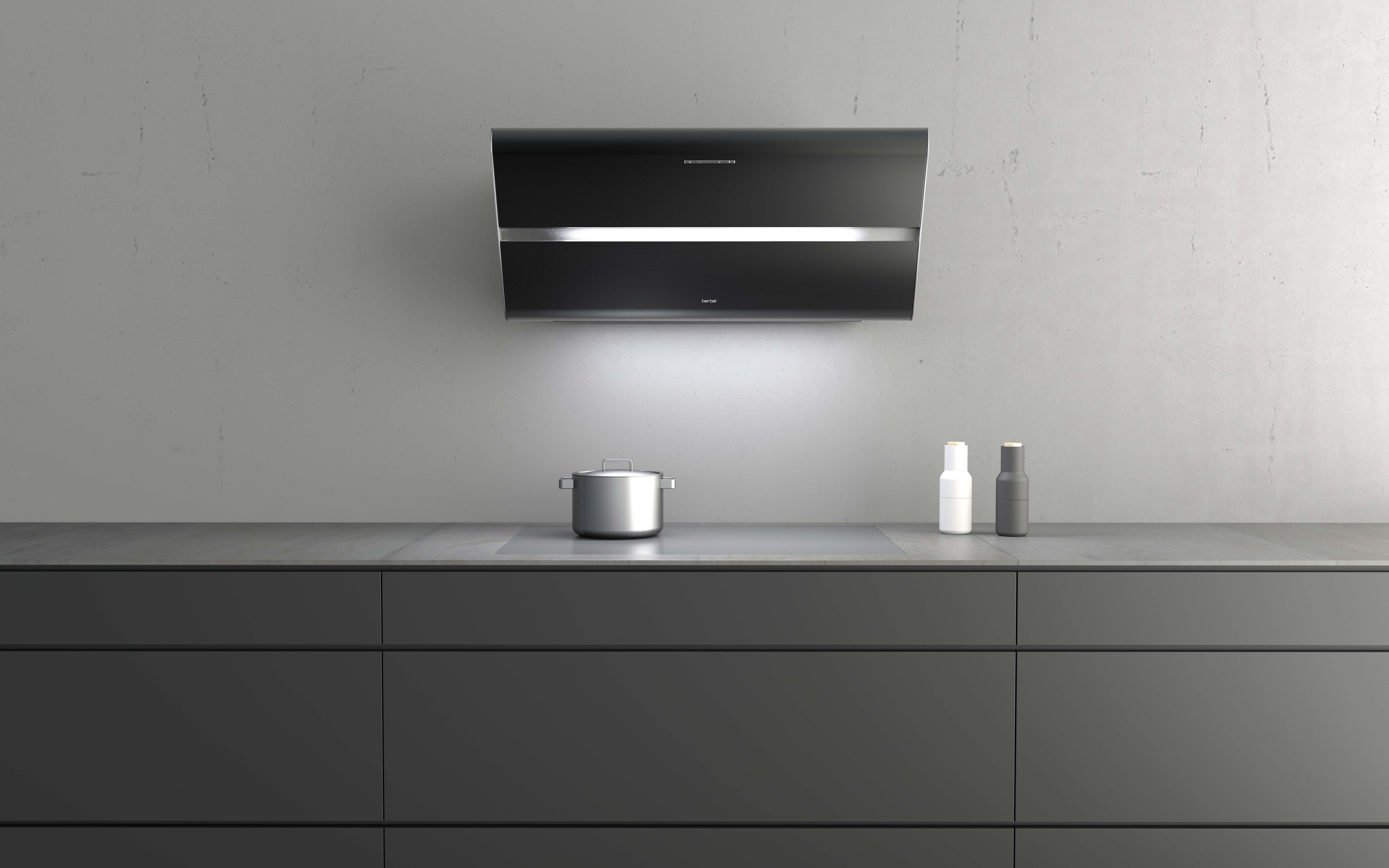 einbauhaube firstline unseen und kopffreihaube smartline. Black Bedroom Furniture Sets. Home Design Ideas